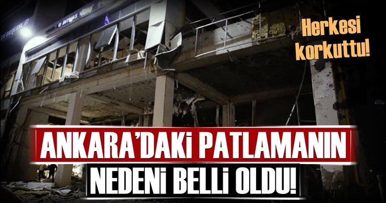 Ankara'da kazan dairesindeki patlamanın nedeni belli oldu