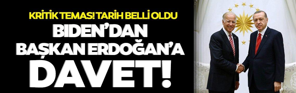 Biden, Başkan Erdoğan'ı İklim Zirvesi'ne davet etti