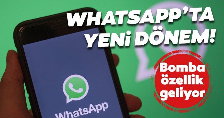 WhatsApp'a harika bir özellik geliyor! WhatsApp kullanıcıları yıllardır bu özelliği istiyordu
