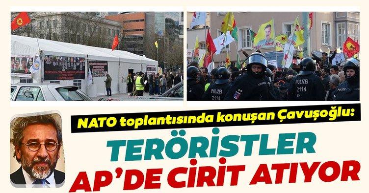 Çavuşoğlu: Teröristler AP'de adeta cirit atıyorlar