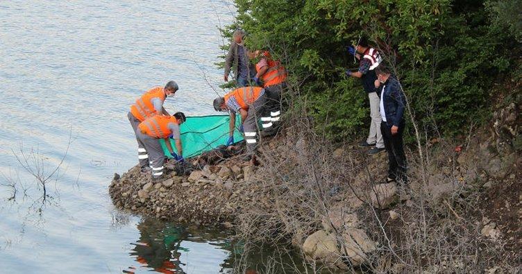 Tokat'ta baraj gölü kıyısında erkek cesedi bulundu!