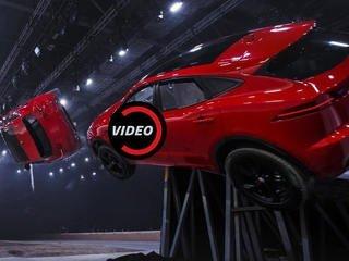 Jaguar E-Pace Guinness Rekorlar Kitabı'na girdi