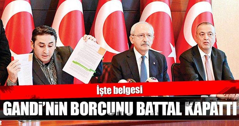 Kılıçdaroğlu'nun borcunu Battal İlgezdi ödedi!