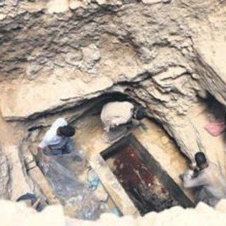 Mısır'da gizemli lahit açıldı