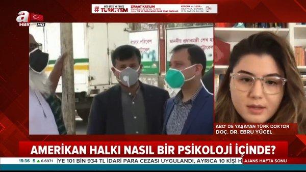 ABD'de yaşayan Türk Doktor corona virüsü dehşetini canlı yayında anlattı | Video