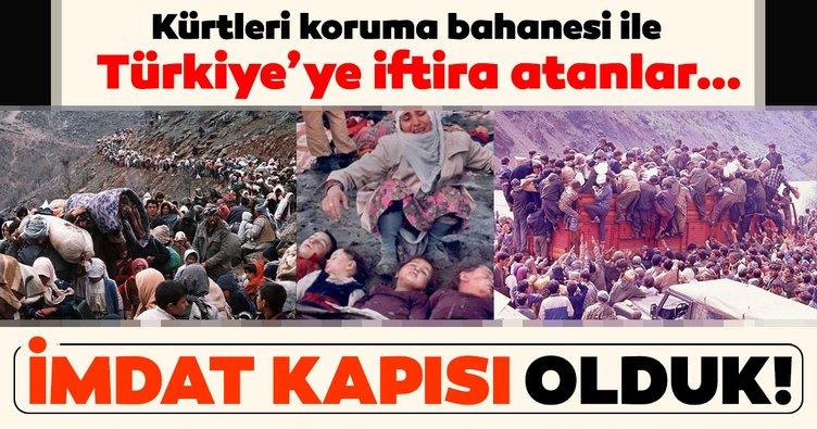 Türkiye mağdur ve mazlumlar için imdat kapısı oldu!