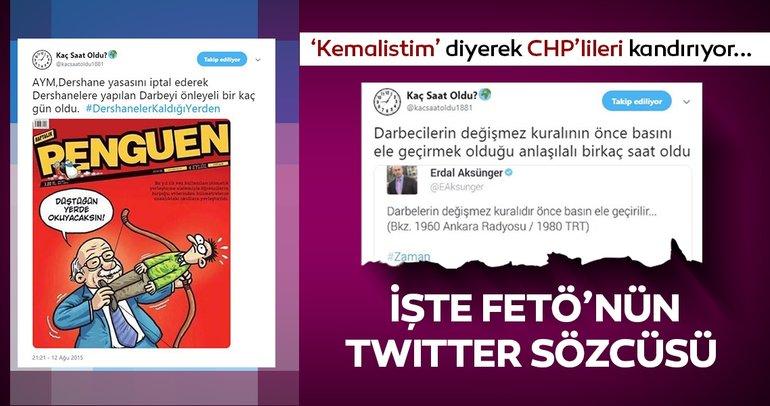 CHP'lileri 'Kemalistim' diye kandırmış! İşte FETÖ'nün sosyal medyadaki sözcüsü...