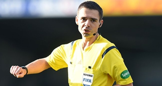 Shakhtar Donetsk-Atiker Konyaspor maçının hakemi...