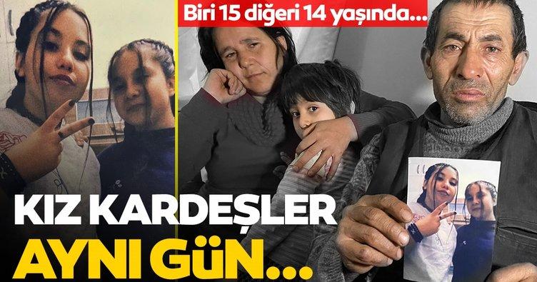 Son dakika: Afyonkarahisar'da Gülsüm ve Sevda Yumuk isimli kardeşler kayboldu! Aileleri gözyaşlarına boğuldu!