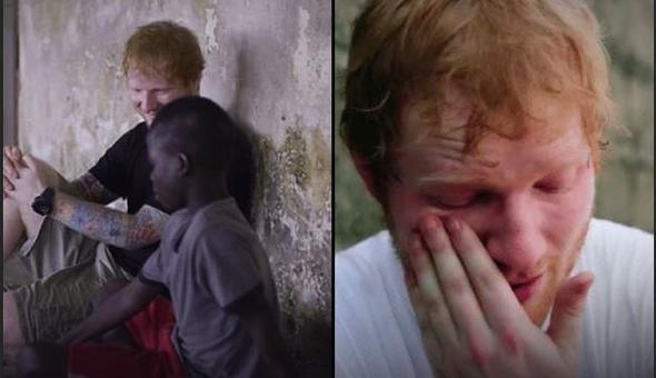 Ünlü şarkıcı sokak çocuğunun hayatını böyle değiştirdi