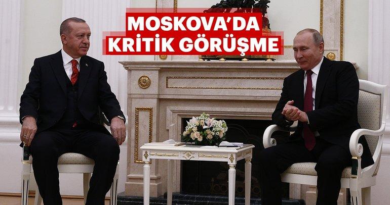Başkan Erdoğan Moskova'da