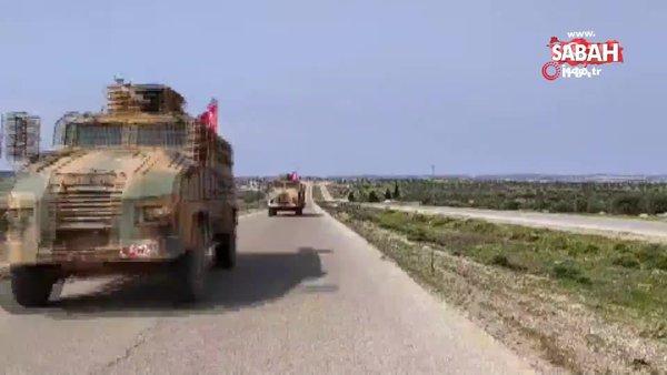 TSK, M4 kara yolunda devriye gerçekleştirdi   Video