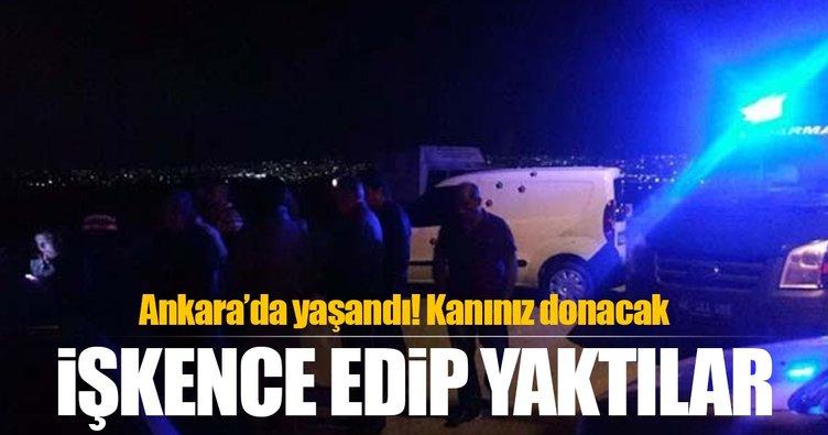 Ankara'da korkunç köpek ölümleri! Zehirleyip, işkence edip, yaktılar...