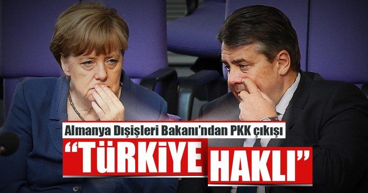 Almanya Dışişleri Bakanı'ndan PKK çıkışı: Türkiye haklı