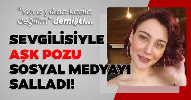 Merve Çağıran'dan sevgilisi İsmail Hacıoğlu ile ayna pozu! Sosyal medya onları konuştu