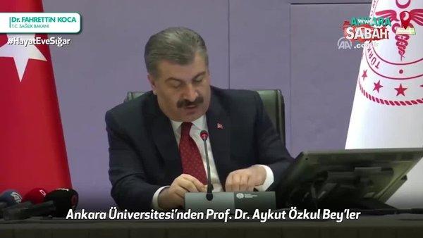 Sağlık Bakanı Fahrettin Koca corona virüsü izole etmeyi başaran 2 Türk doktoru açıkladı!   Video