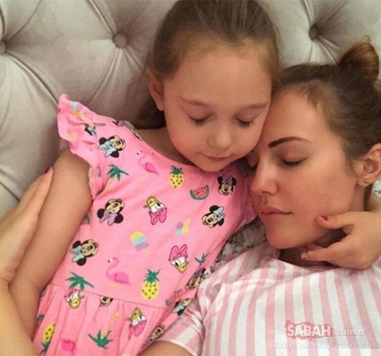 Fit anne Meryem Uzerli kızları Lily Koi ve Lara ile sosyal medyayı salladı!