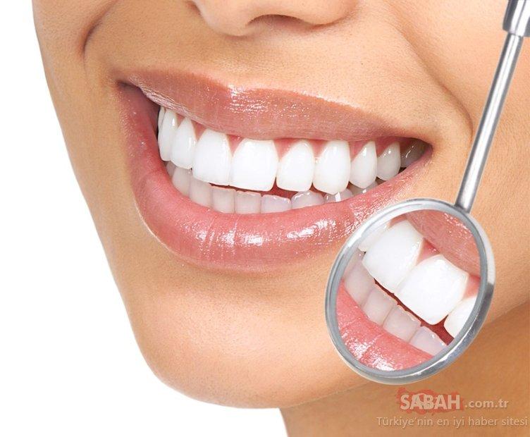 Sadece bir malzemeyle dişlerdeki bu soruna son!