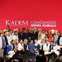 KADEM 1. olağanüstü genel kurulu yapıldı