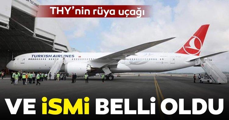 8d976df0b THY'nin yeni uçağının ismi 'Maçka' oldu. Türk Hava Yolları, dün itibariyle  filosuna dahil ettiği Boeing 787-9 ...