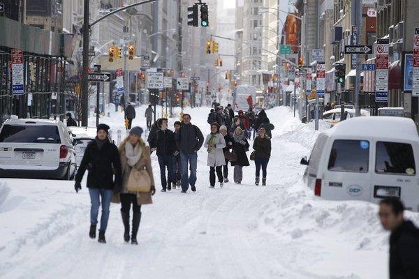 ABD'de 100 yılın soğuğu...