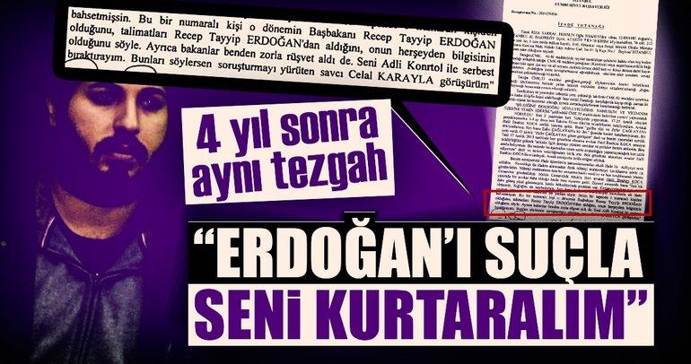 Erdoğan'ı suçla seni kurtaralım