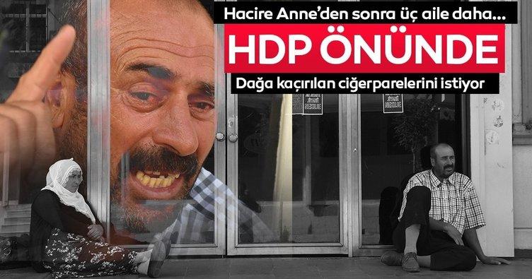 HDP Diyarbakır İl Başkanlığı önünde oturma eylemi
