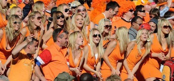 İşte kupanın renkli fanatikleri