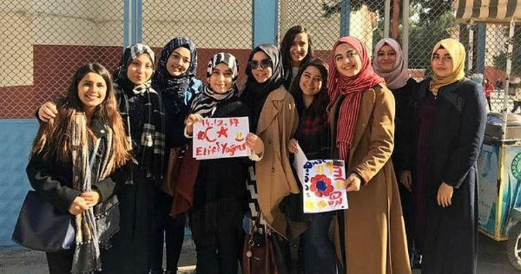 Üniversite öğrencileri 'gülümsetti'