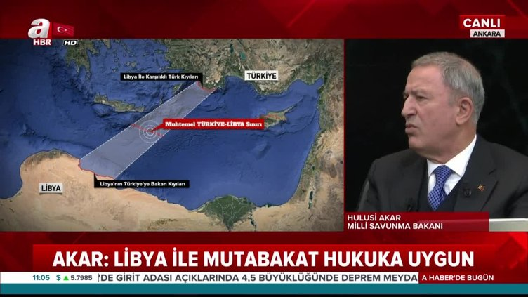 Bakan Akar: Yunanistan'ın yaptığı acizliktir