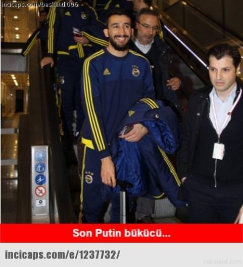 Lokomotiv Moskova -Fenerbahçe capsleri