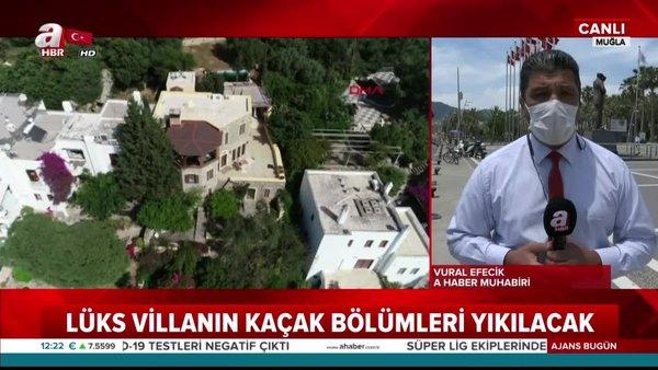 Firari Can Dündar'ın kaçak villası yıkılacak | Video