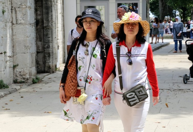 Koreli turistler rotayı Türkiye'ye çevirdi