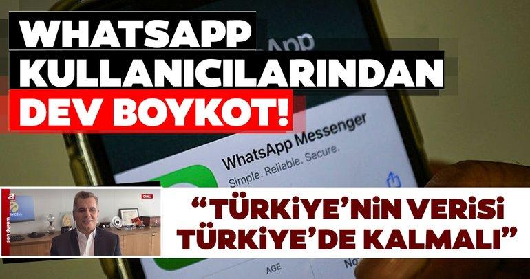 WhatsApp kullanıcılarından dev boykot! Turkcell Genel Müdürü Murat Erkan'dan flaş açıklamalar...