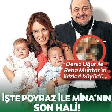 Zalim İstanbul'un Seher'i Deniz Uğur'un ikizleri büyüdü…