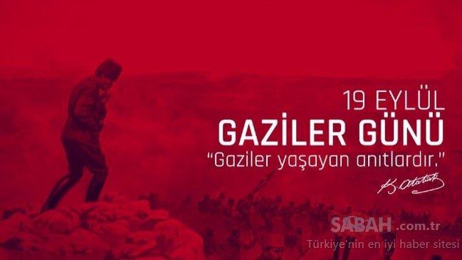 Gaziler Günü mesajları 19 Eylül! Resimli en güzel Gaziler Günü mesajları ve sözleri