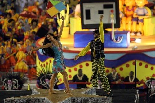 Rio Karnavalı'ndan renkli kareler - 2