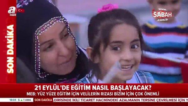 Bakan Selçuk'tan son dakika açıklaması: Okullar ne zaman açılacak? MEB ile yüz yüze eğitimin başlayacağı tarih | Video