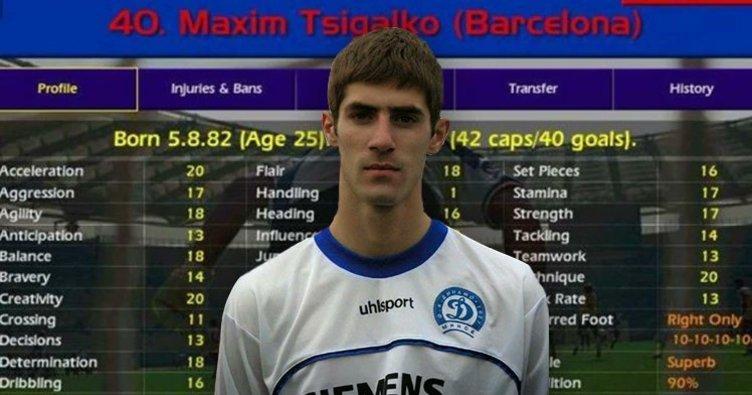 SON DAKİKA: Championship Manager efsanesi futbolcu Maxim Tsigalko hayatını kaybetti! Maxim Tsigalko kimdir?