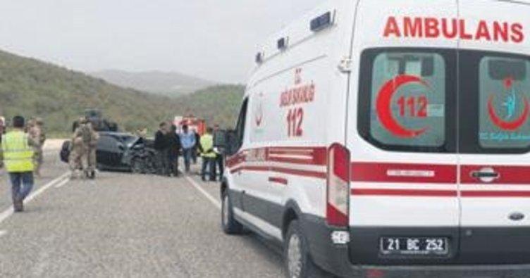 Diyarbakır'da feci kaza: 5 ölü