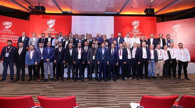 Ziraat Türkiye Kupası'nda 3. tur kuraları çekildi
