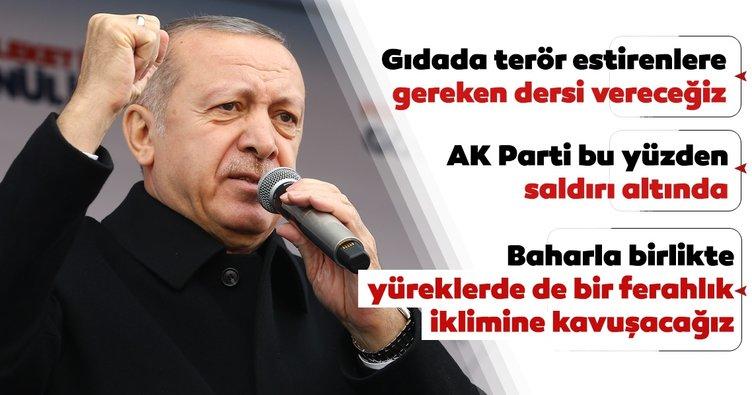 Başkan Erdoğan Kastamonu'da