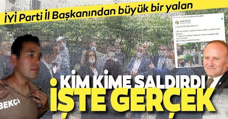 İYİ PartiAnkaraİl Başkanı Yetkin Öztürk'ün yalanı ortaya çıktı!