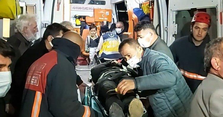 Sakarya'da feci kaza! Otomobil şarampole uçtu: Yaralılar var