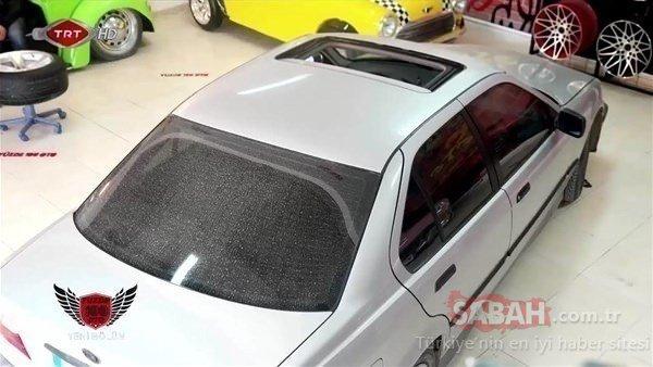 Eski kasa BMW'sini onlara bırakmıştı! Döndüğünde gözlerine inanamadı