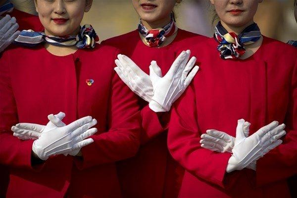 Çin`in hostes kızları