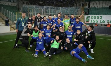 Bursaspor kazandı Erzurumspor turladı