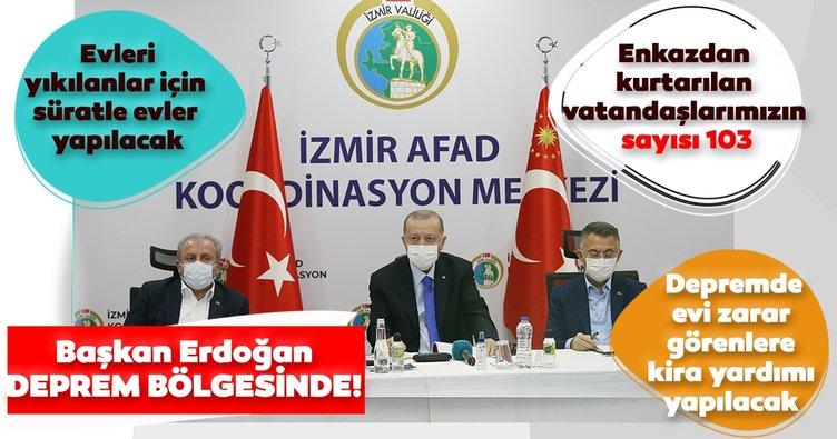 Son dakika haberleri: Başkan Recep Tayyip Erdoğan'dan İzmir'de önemli açıklamalar