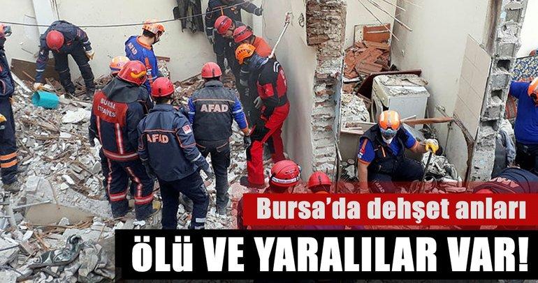 Son Dakika Haberi: Bursa'da doğalgaz patlaması: 1 ölü, 2 yaralı