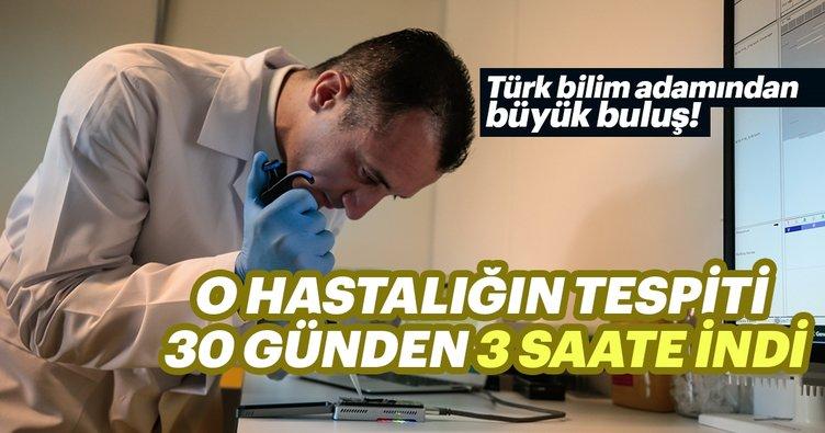 Türk bilim adamından o hastalıkların tespitini 30 günden 3 saate indiren buluş!